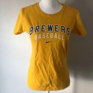 Nike MLB Brewers Baseball Short Sleeve Tee